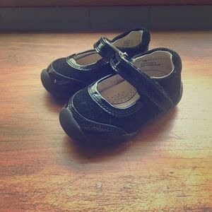 Black Toddler Mary Jane Shoes